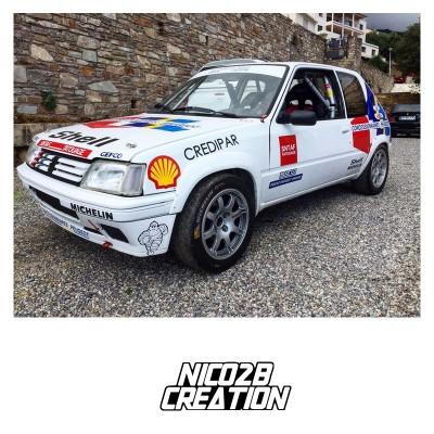Déco 205 Rallye