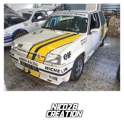 Déco R5 GT Turbo