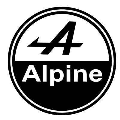Logo Rond Alpine