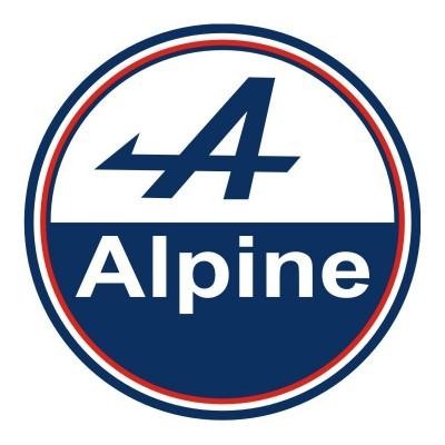 Logo Rond Alpine Couleur