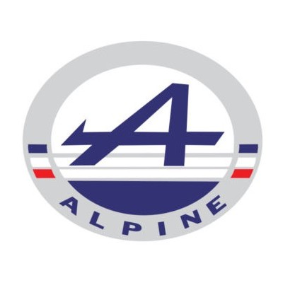 Logo Rond Alpine Couleur 2