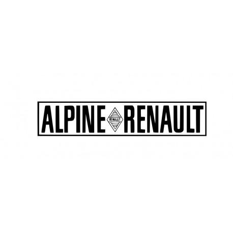 Logo Alpine Renault